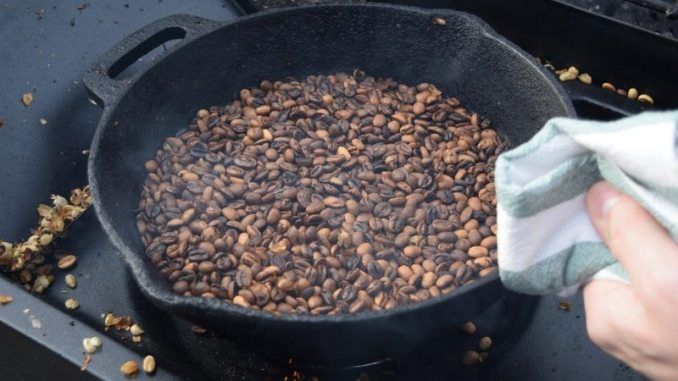 first crack coffee beans