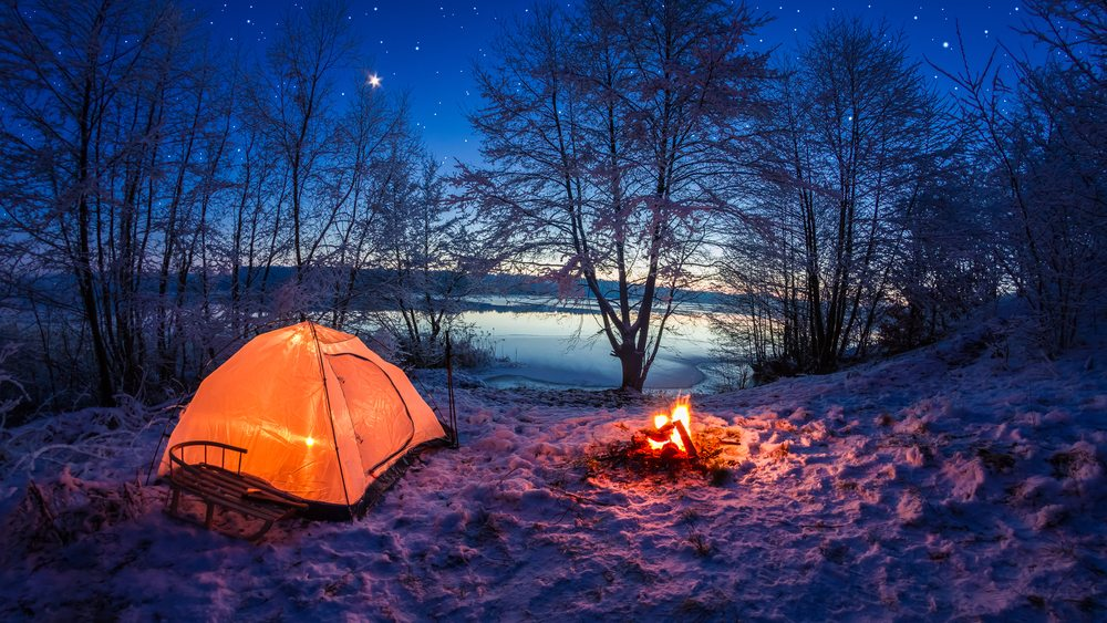 winter tent c&ing  sc 1 st  Guy Counseling & 30 Cold Weather Tent Camping Tips | Guy Counseling