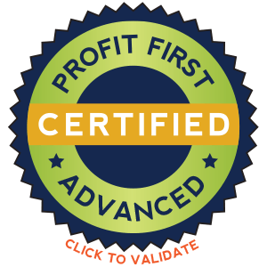 GuYDanS consulting and bookkeeping, Profit First Advanced certificate