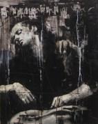 'Ecuba trista , misera e cattiva , Poscia che vide Polissena morta', oil on canvas, 76 x 51cm