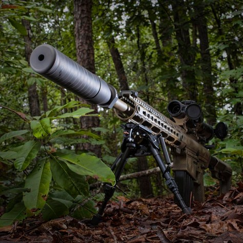 gun photography, firearm photo, strobist gun photo, Sig Sauer Silencer, Sig Sauer Suppressor, Guy Sagi, Guy J. Sagi, Fear and Loading, Fear & Loading