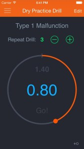 Dry Practice Drill App, Guy Sagi, Fear and Loading, gun app for that