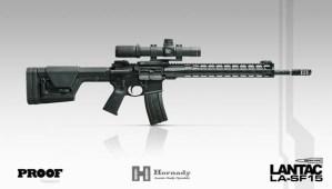 Lantac LA-SF15 6 MM ARC Chambered Rifle & Dedicated E-BCG