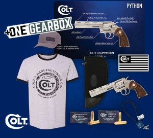 Colt's Mfg. Contributes Gearbox Giveaway