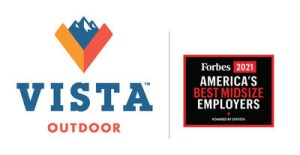 """Forbes Names Vista Outdoor as one of """"America's Best Midsize Employers"""" for 2021"""