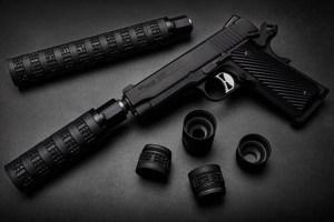 Sig Sauer Modular MODX-45 Pistol Suppressor Now Shipping