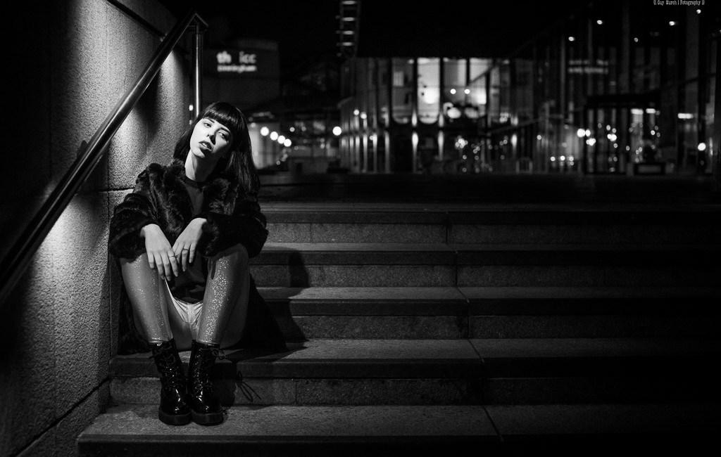 Night time shoot in Birmingham