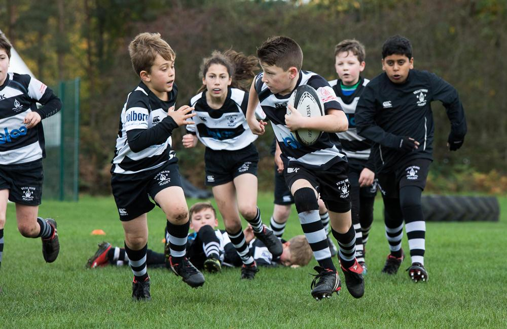 Veseyans Mini & Junior Rugby 29th October 2017