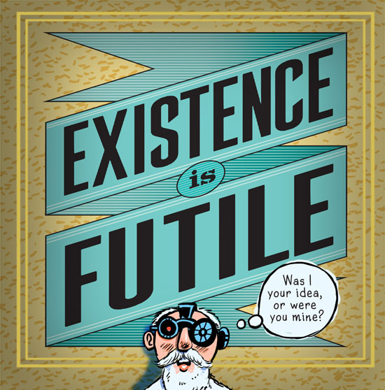 existence is futile cartoon