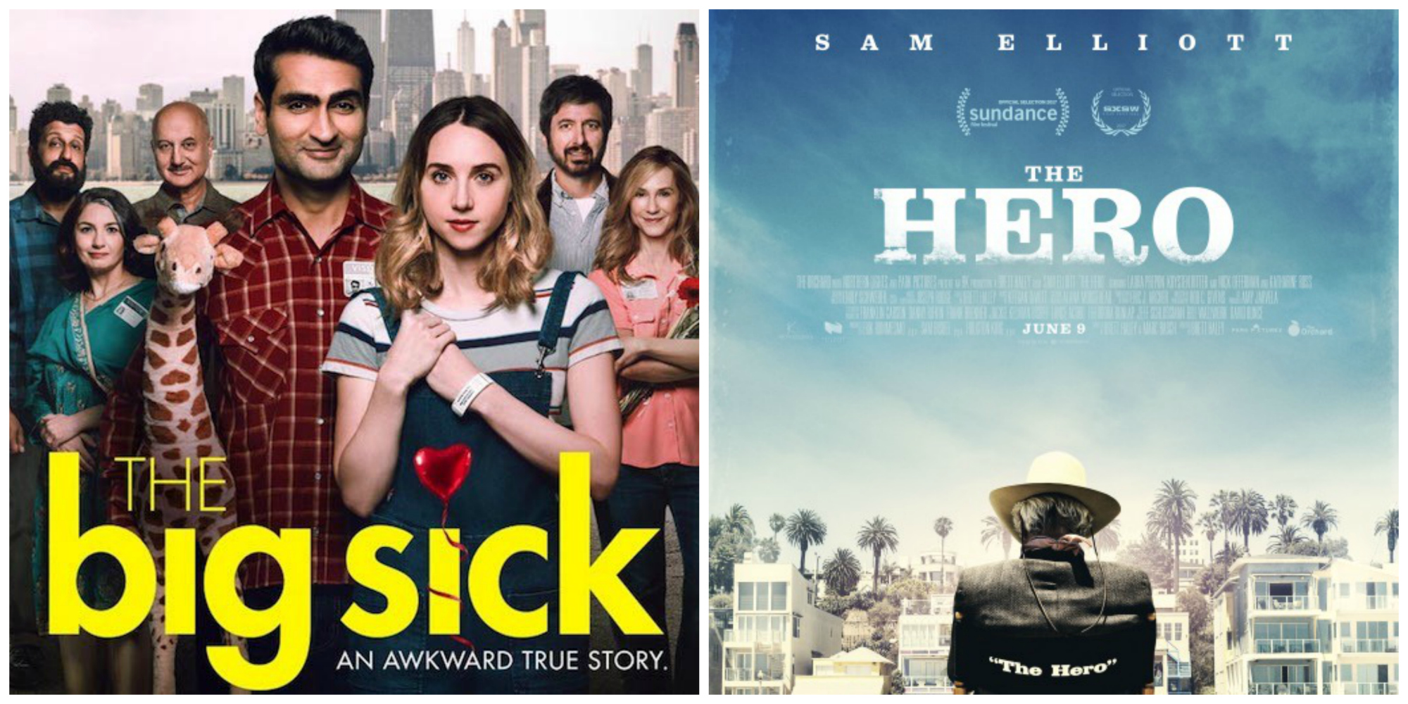"""The Hero"" & ""The Big Sick"" Review"