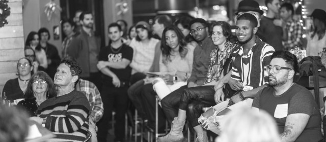 """Vision Statement: """"Guys Reading Poems"""" (open mic edition)"""