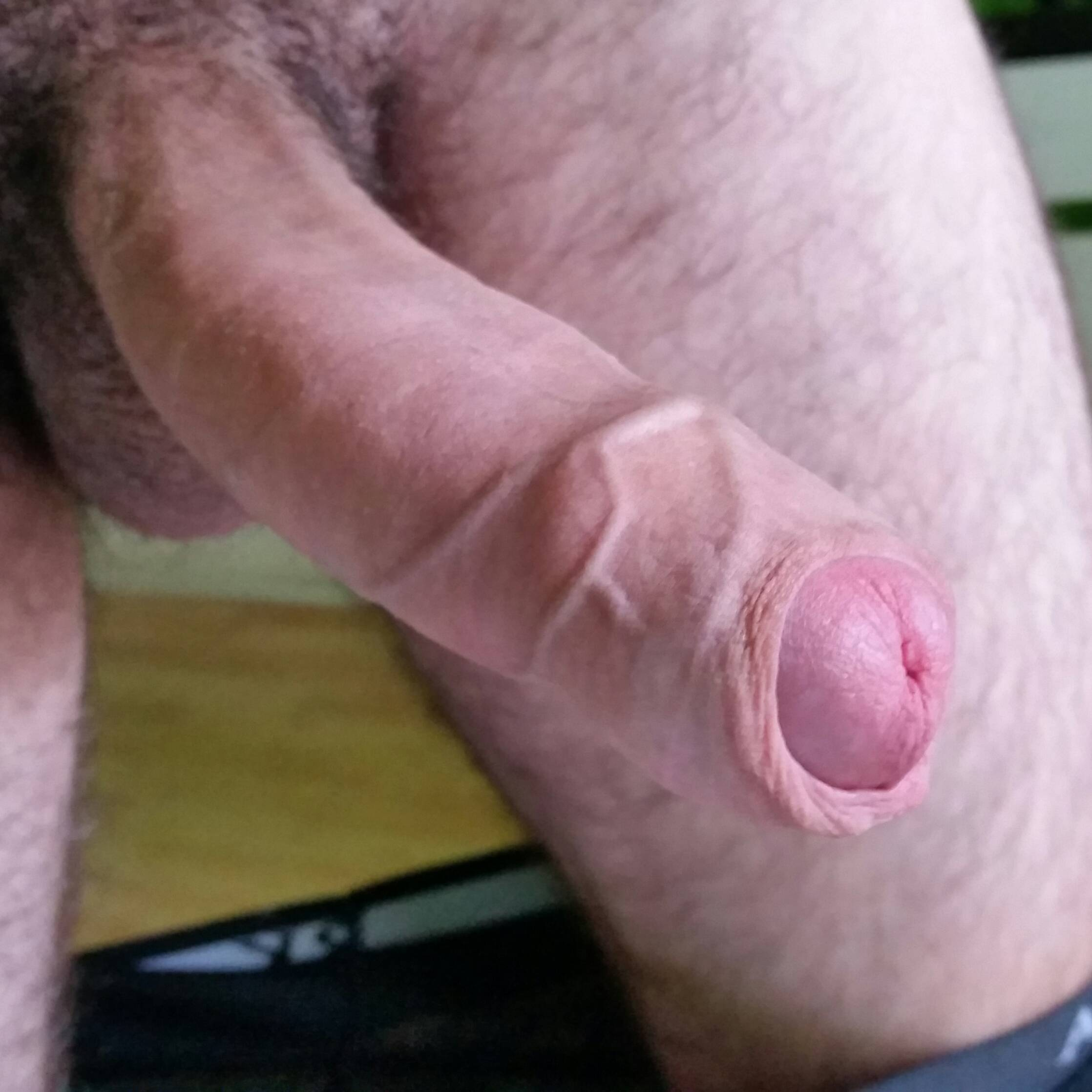 cocks foreskin with Men long