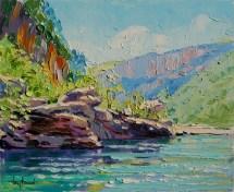 Grenouille (Gorges). 46X38 cm