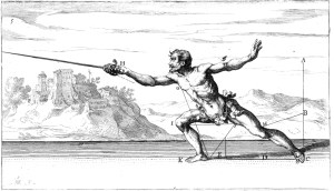 Plate 5: the lunge!