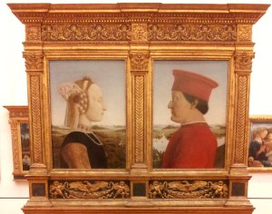 The Duke and Duchess of Urbino