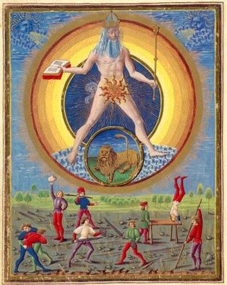 Sol, from De Sphaera, original is in Modena.