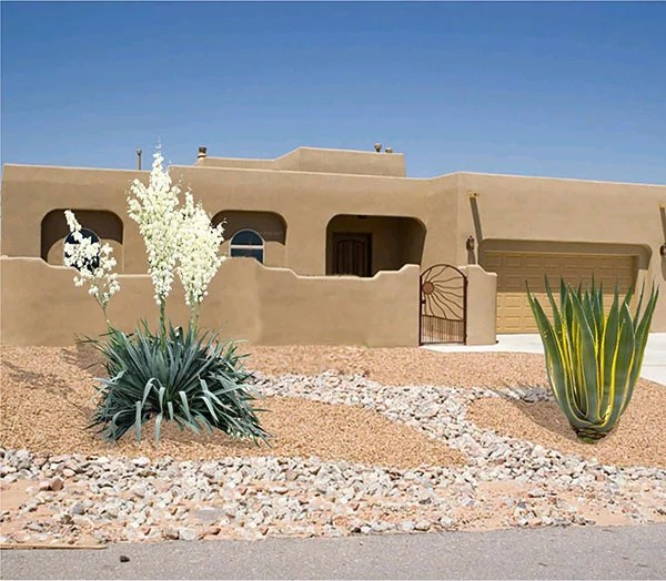 Southwest front yard landscaping ideas