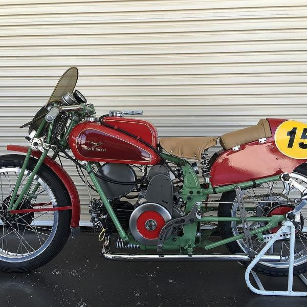 My 1938 PE250 compressor.  I have it log booked for classic racing but not sure if I'd rather just look at it. Not allowed in the lounge room ☹️yet.  #motoguzzi #guzziracer