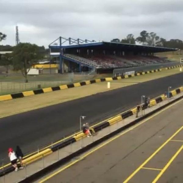 Pick the Guzzi. My Daytona at the Barry Sheene Festival of Speed. The noise is like no other. #motoguzzi #guzziraceraus #guzziracer #sydneymotorsportpark