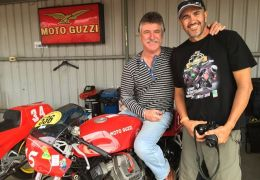 A year ago today we lost Dave Roe. An absolute Guzzi nutter who knew more about RaceCo Daytona's than anyone else in Australia. His No1 Daytona Racing (RaceCo) Guzzi won the Ducati Concourse in WA on numerous occasions. Back in the day he actually raced a Mk2 LeMans. That's proof he was crazy! He was a fantastic man and I loved him like a brother. Cheers to you Dave Roe. The world is a much poorer place without you.
