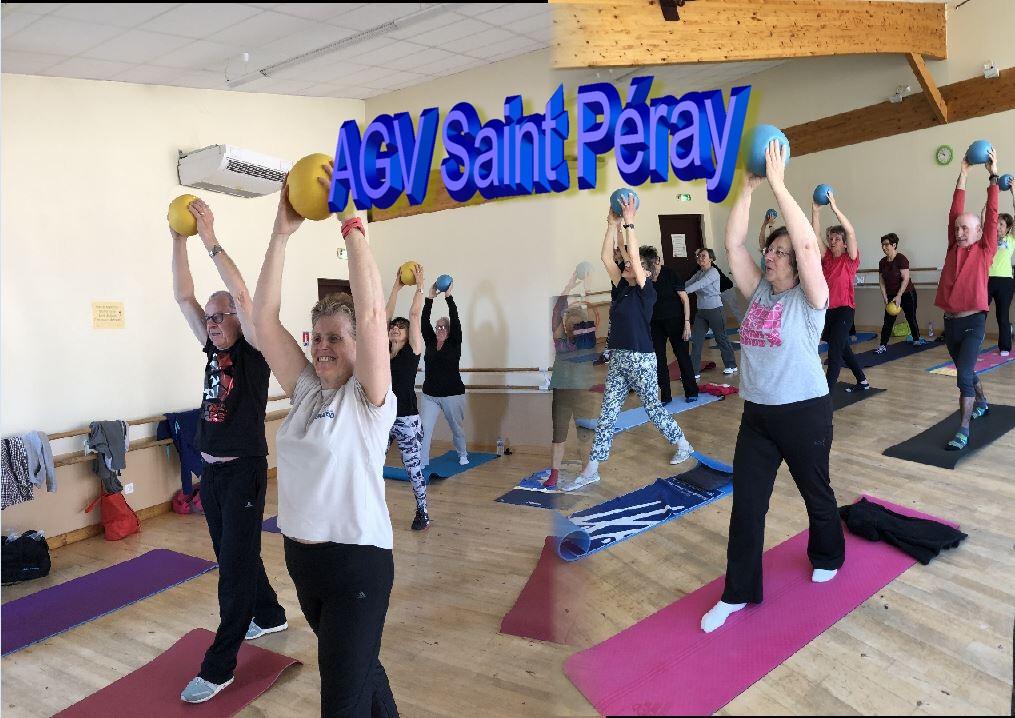 agv, gymnastique volontaire saint peray, sport, santé