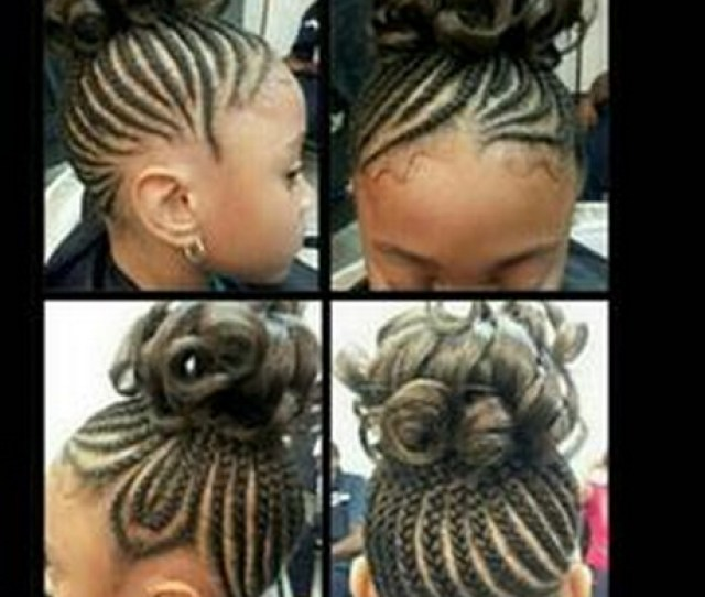 Little Girl Hairstyles Braids Protective Hairstyle Hairstyles Kids Bow