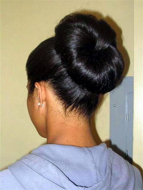 Bun For Long Hair