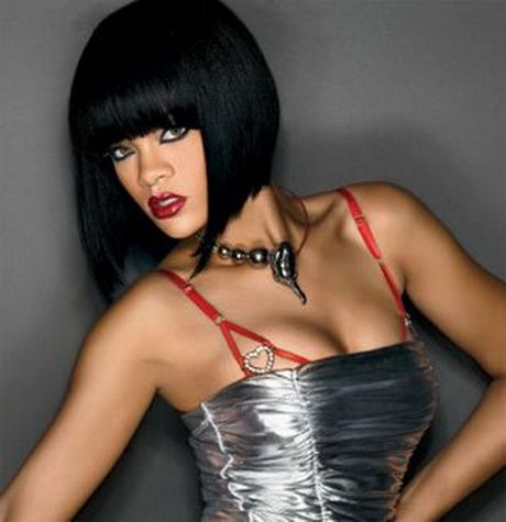 chinese bangs black hairstyle