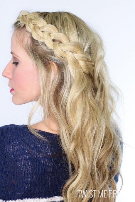 Dutch Braid Hairstyles