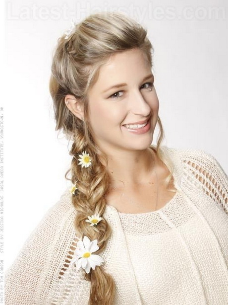 French Braid Hairstyles For Prom