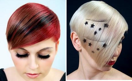 hair designs for short hair