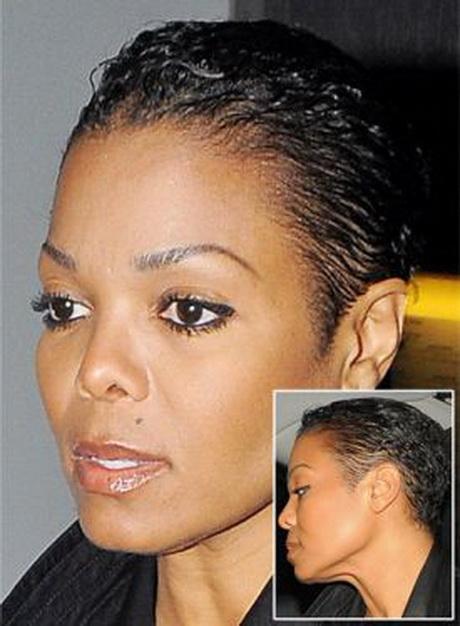Janet Jackson Short Haircut