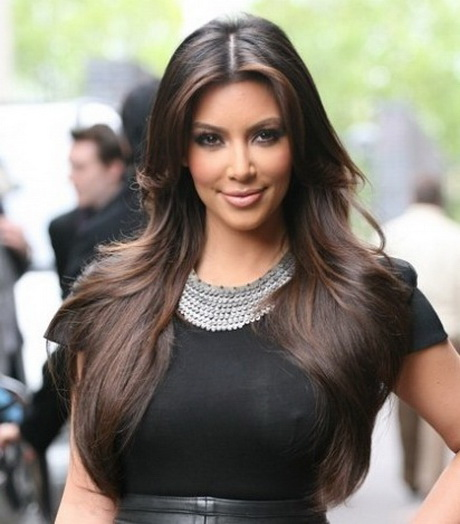 Kim Kardashian Layered Haircut