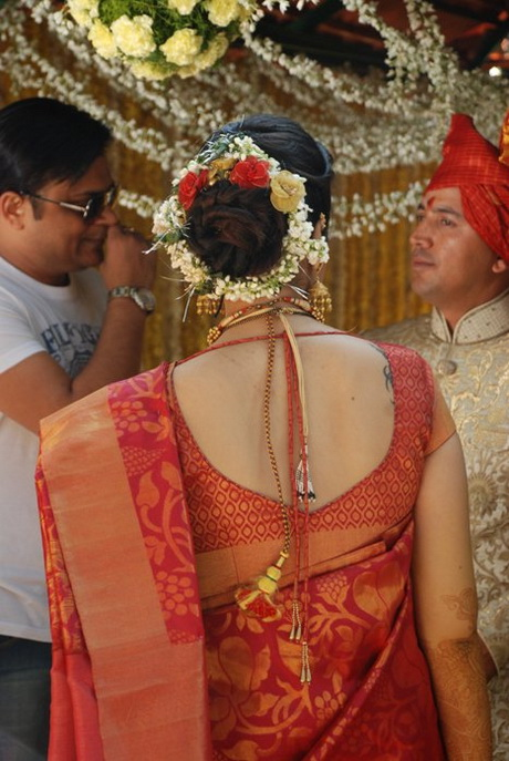 Marathi Bridal Hairstyle