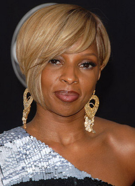 Mary J Blige Short Hairstyles