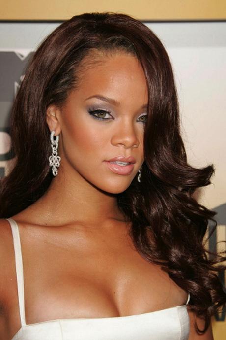 Rihanna Hairstyles Long Hair
