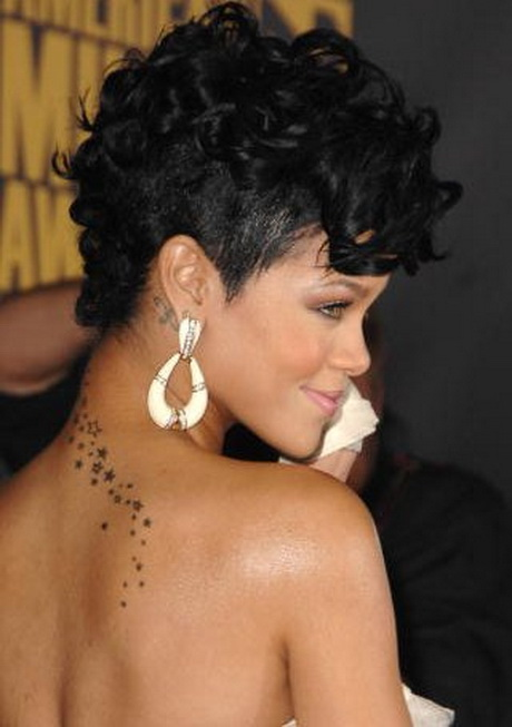 Image Result For Rihanna Short Hairstyles Front And Back