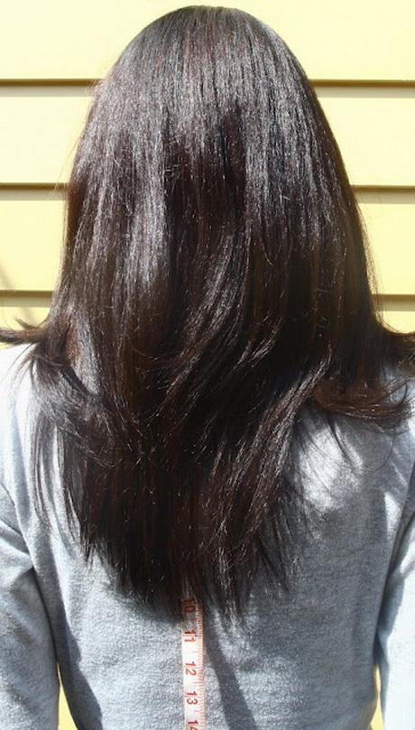 V Shaped Haircut