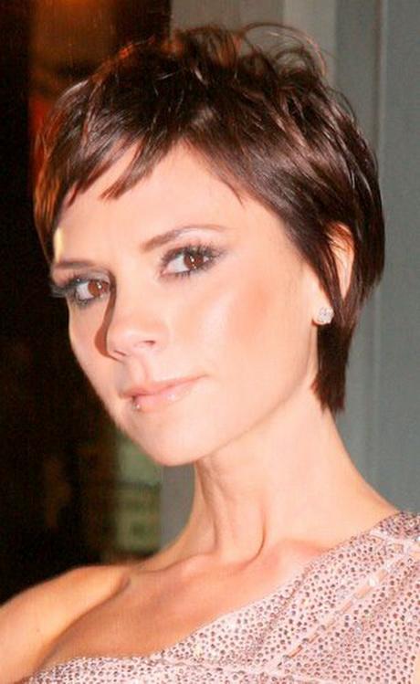 Victoria Beckham Pixie Haircut