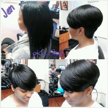 short hairstyles quick weave