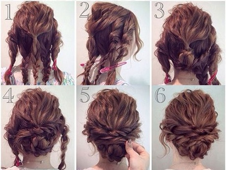 Updos For Thick Wavy Hair