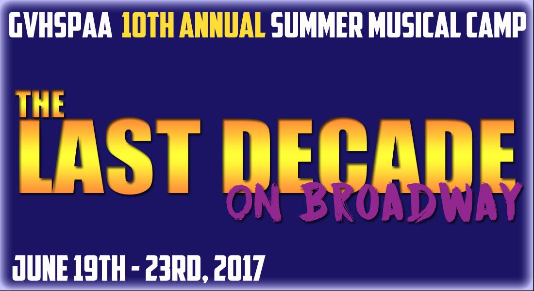 Summer Camps Web design 2017