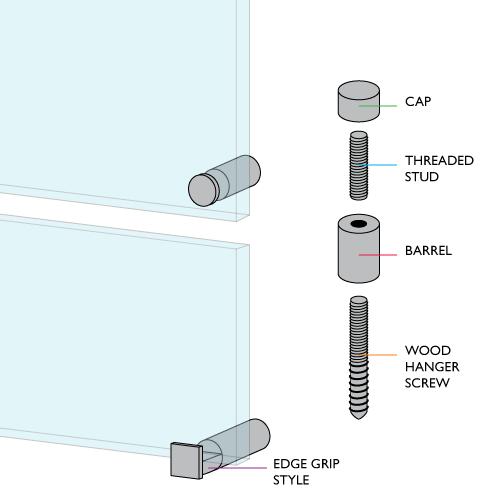 Standoff Hardware Illustration