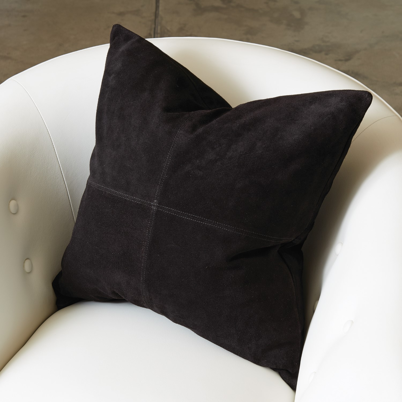 four square pillow black