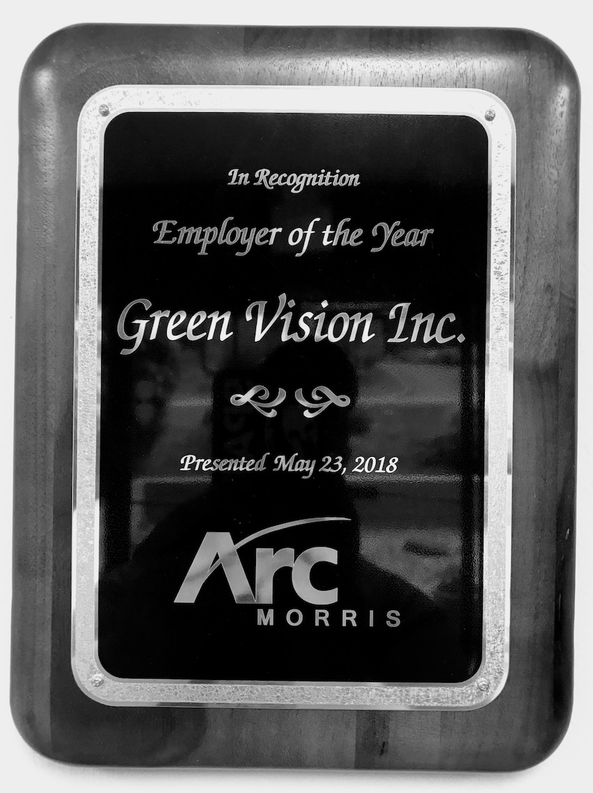 2018 Employer of the Year (Morris County ARC)