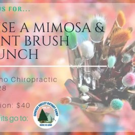 Raise a Mimosa & Paint Brush Brunch