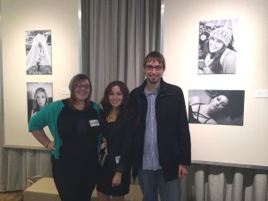 Each pair of pictures featured a natural shot of the model participating in her favorite hobby and a provocatively posed shot, meant for social media.  (From left: Elizabeth Batten, Makenna Runion, and Jacob Pierzchala)