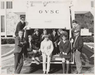 The 1963-1967 yearbook staff