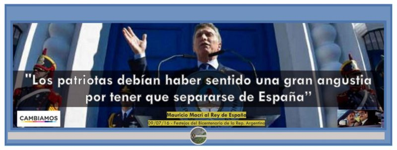 Mauricio Macri, Macri Si Perón estuviese vivo militaría Juntos por el Cambio,