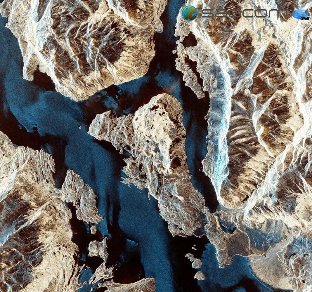 #SateliteArgentino 1eras imágenes de 🛰SAOCOM🛰 desde el espacio